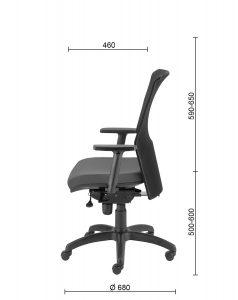 Ergonomiškos biuro kėdės Lambda