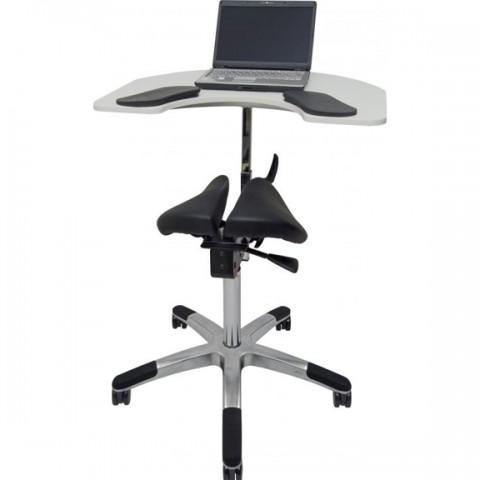 Ergonomiška kėdė su integruotu stalu SALLI ELBOW TABLE