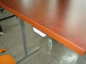 Įrengta ergonomiška darbo vieta kompiuteriui