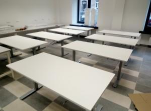 Mechaniškai reguliuojami aukščio stalai Ergos EM 470