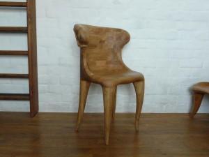 Patogių formų ąžuolinės kėdės