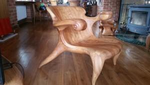 Kokybiškos ąžuolinės kėdės
