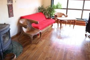 Ergonomiški ąžuolo masyvo baldai