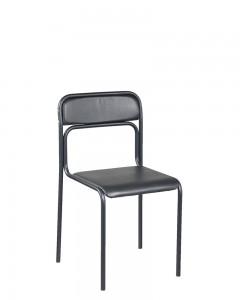Lankytojų kėdė ASCONA_black