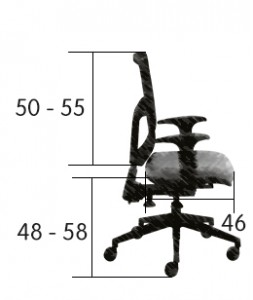 \Ergonomiška biuro kėdė Now Ultra