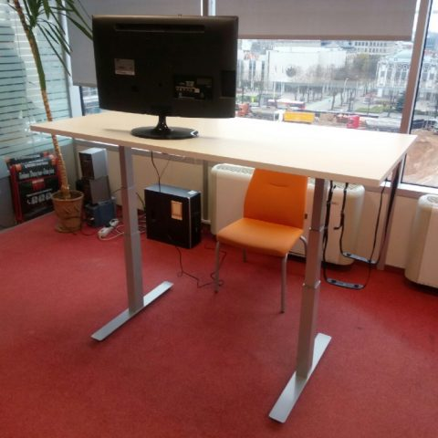 Išmanusis stalas valdomas kompiuteriu - Ergos EPI 650