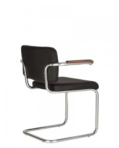 Lankytojų kėdės SYLWIA LUX ARM CHROME