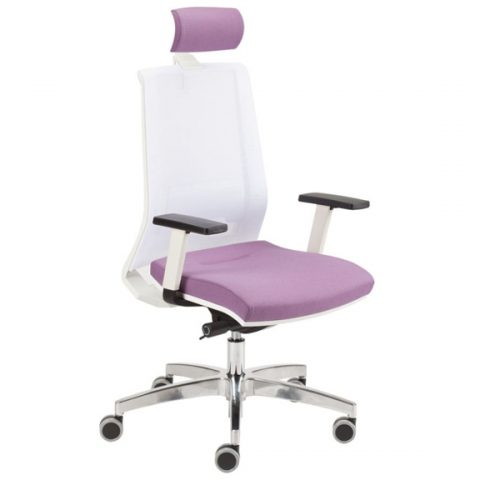 Ergonomiškos kėdės RESS WHITE